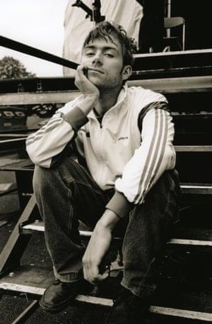 Damon Albarn's Britpop look inspired the tracksuit trend.