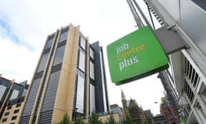 Sign for Jobcentre Plus in London