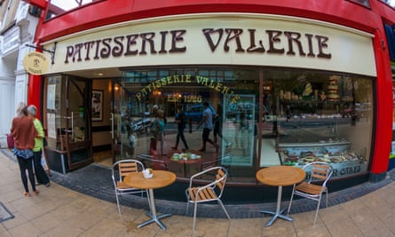 A Patisserie Valerie outlet