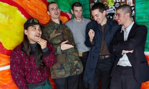 Fat White Family at the Windmill music venue in Brixton.