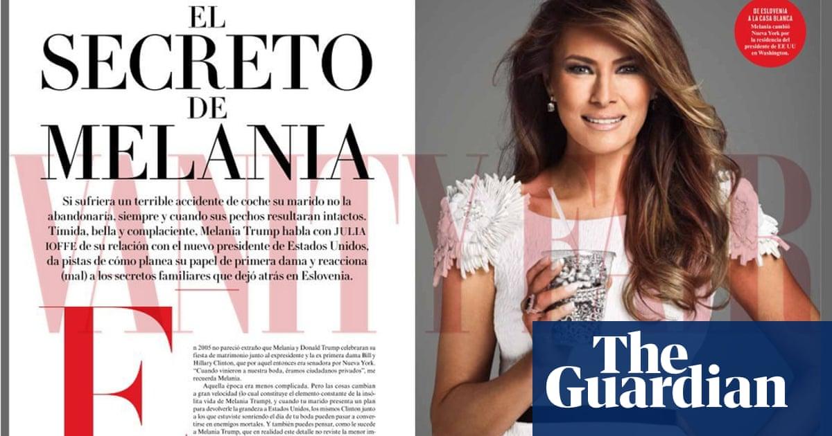 Melania Trump's Vanity Fair Mexico cover draws ire: 'It's ...