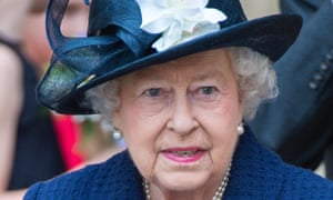 The Queen during VE Day 70th anniversary celebrations in 2015