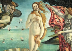 The Birth of Brandis (after Sandro Botticelli)
