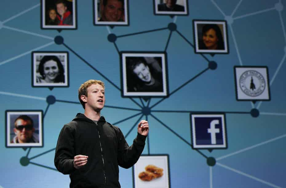 Mark Zuckerberg in 2010. 'The truth is that Facebook's great value has come from making the rest of us lose control.'