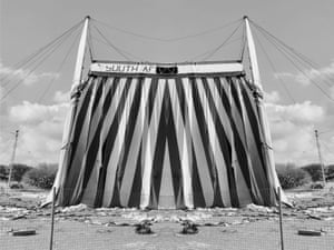 Alastair Whitton: Tent, Observatory 2019This is from Whitton's photo narrative A Foreign Land, shot in Cape Town, South Africa.