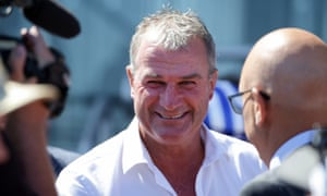 Horse trainer Darren Weir, who was behind the 2015 Melbourne Cup winner Prince of Penzance, has had his stables raided by police and Racing Victoria.