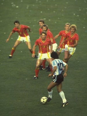 942cbe2ed Diego Maradona against Belgium  the real story behind the famous image