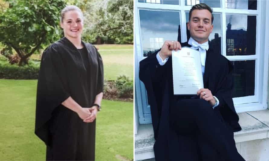 Saskia Jones and Jack Merritt, victims of the London Bridge attack.