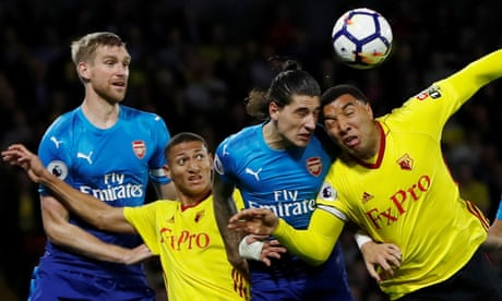 'Smell of blood' after Mesut Özil's entry stirs Watford to victory | Simon Burnton