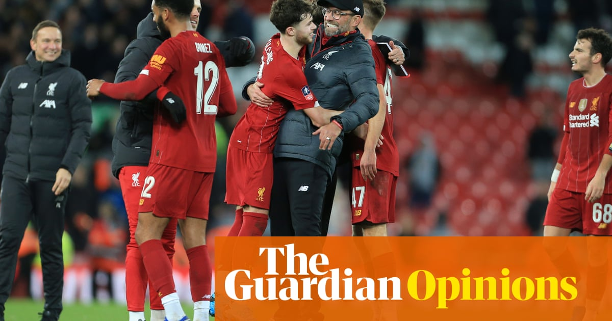 Klopp's teenagers and reserves serve Ancelotti with a painful reality check