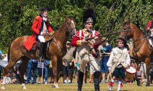 New Yorkers commemorated the 240th anniversary of the Battle of Brooklyn on August 28, 2016 with a day-long remembrance celebration and reenactments.