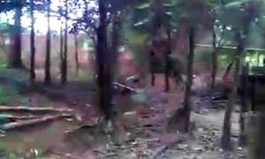 Rohingya mass grave site