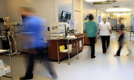 A hospital ward.