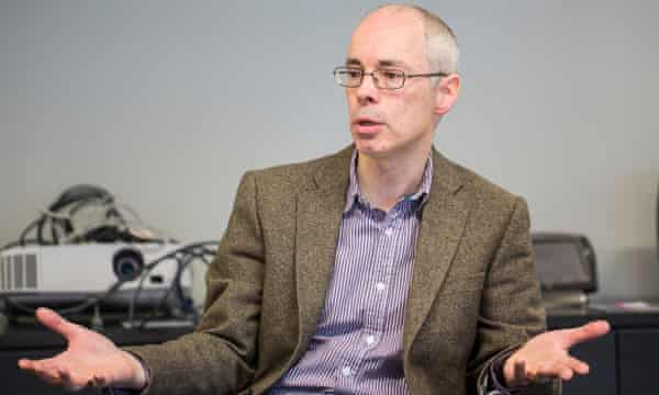Professor Murray Shanahan, who is a senior scientist at DeepMind, but has retained his academic position at Imperial.