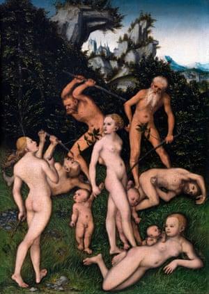 Primitive People  by Lucas Cranach the Elder