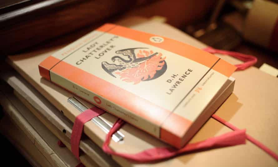 Old copy of Lady Chatterley's Lover