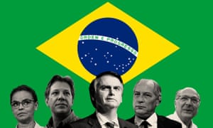 Brazilian presidential candidate Jair Bolsonaro is expected to be the winner.