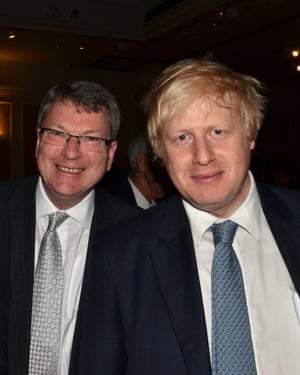 Lynton Crosby, left, and Boris Johnson pictured together in 2011.