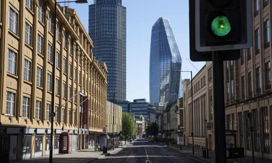 A street near Waterloo station.