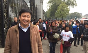 Lawyer Xie Yang who has been detained by Chinese authorities as part of a crack down on human rights.