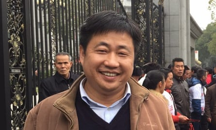 Lawyer Xie Yang before his detention by Chinese authorities.