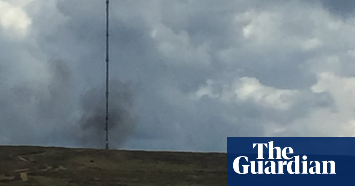 TV out for two more weeks in North Yorkshire after mast fire