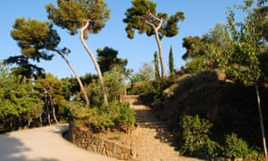 Montjuic hill, Barcelona, Spain.