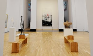 National Museum Cardiff's contemporary art galleries