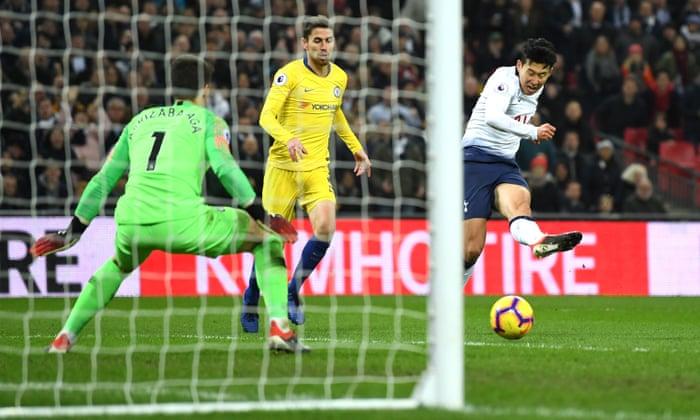 Tottenham 3-1 Chelsea: Premier League – as it happened | Football