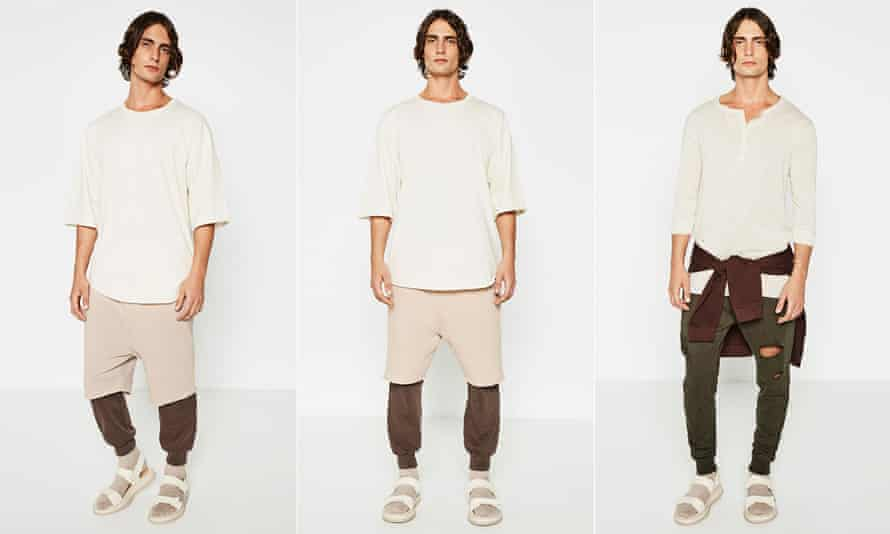 Fashion embraces socks and sandals: Zara's Streetwise collection.