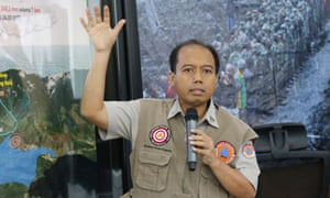 Sutopo Purwo Nugroho: 'I want to try to do good, to be useful.'