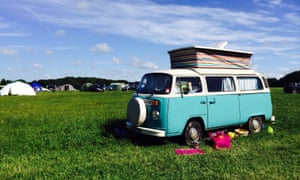Richard Kenchington recently took his first camping trip with his pregnant wife and young child after buying a camper van but suffered a gas leak in the vehicle.