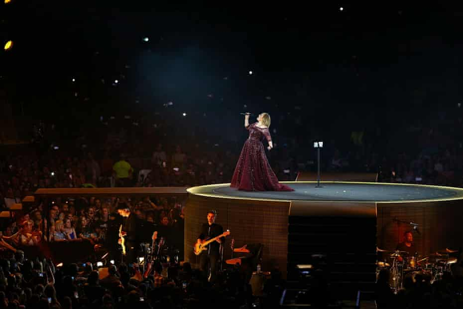 Adele in Perth
