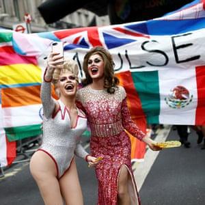 Annual Pride in London parade.