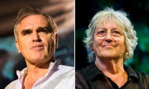 Morrissey and Germaine Greer