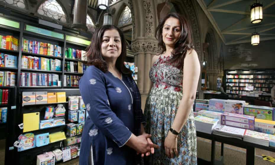 Bradford literature festival founders Irna Qureshi (left) and Symia Aslam.
