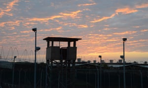 Sunset at Guantánamo. A visit to the base will not be on Barack Obama's itinerary while in Cuba.