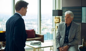 Billy Howle and Richard Gere in MotherFatherSon.