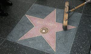 Bill Cosby's star on the Hollywood Walk of Fame.
