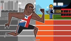 Do British sprinters need to head for a sunnier climate to have a chance of consistently getting under the magic 10-second barrier?