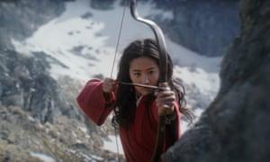 Liu Yifei in Mulan.