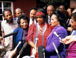 Winnie Mandela and Coretta Scott King