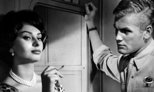 Tab Hunter and Sophia Loren in That Kind of Woman, 1959.
