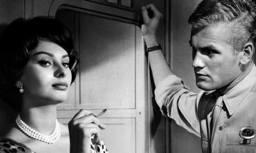 Tab Hunter and Sophia Loren in That Kind of Woman, 1959.