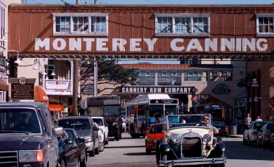 modern-day Cannery Row in Monterey, California.