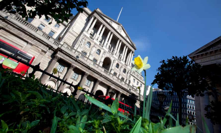 The Bank of England is partly funded by taxpayers.