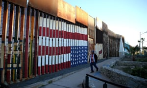 The contest to build the border wall, one of Donald Trump's signature campaign promises, has been dubbed a 'beauty pageant'.