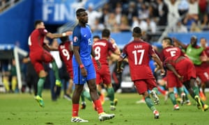 'Paul Pogba was a huge disappointment, not least to himself. He passed neatly but seemed a little lost, all his best qualities subsumed into an eager but slightly unconvincing impression of a passing central midfielder.'