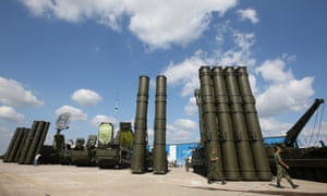 Russian S-400 and S-300 missile systems