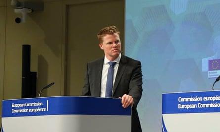 European commission spokesman Christian Wigand